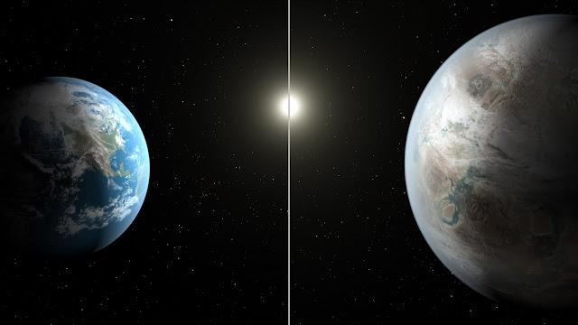 NASA descobre um planeta maior e mais velho que a Terra em zona habitável
