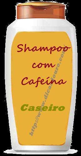 Shampoo com cafeína