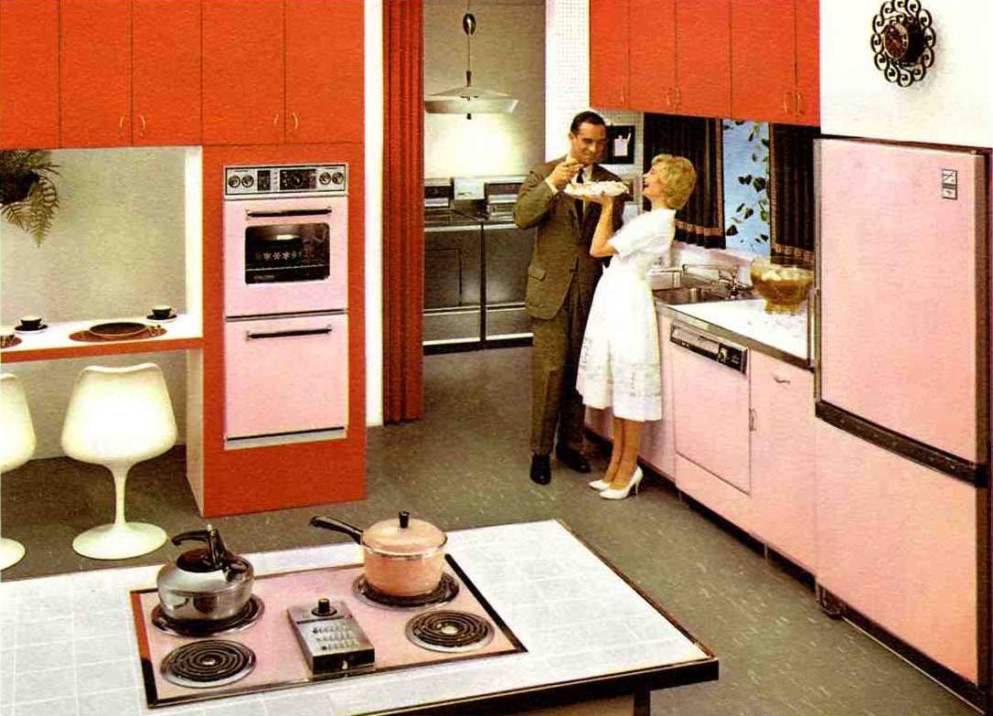 Vintage clothing love vintage kitchen inspirations 1960 39 s for Kitchen design 70s