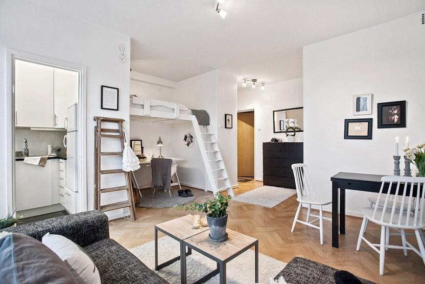 Decotips camas en altura soluciones para espacios for Soluciones para espacios pequenos