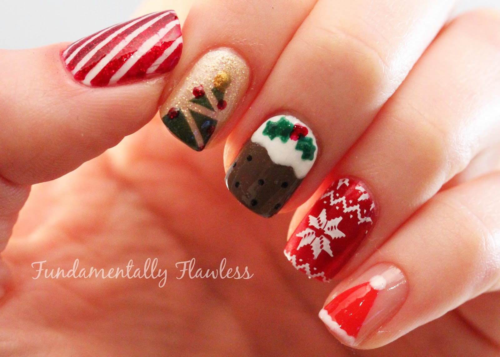 Christmas Tree Nail Art Designs Best Cars
