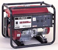 Genset Elemax SH-5000 RA - Harga Genset Elemax Murah