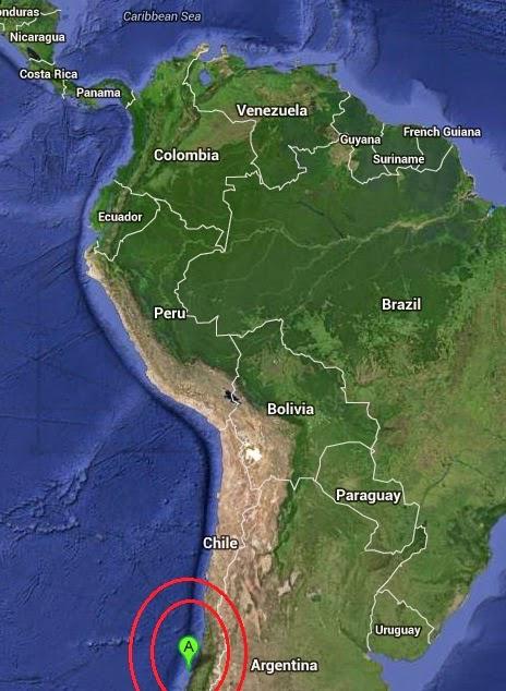 Magnitude 5.2 Earthquake of Constitucion, Chile 2014-09-28