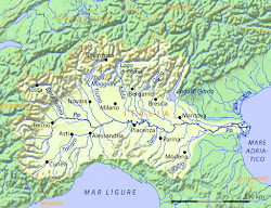 Itiner.d'Italie-La description des voyages par les routes frequentees aux principales villes