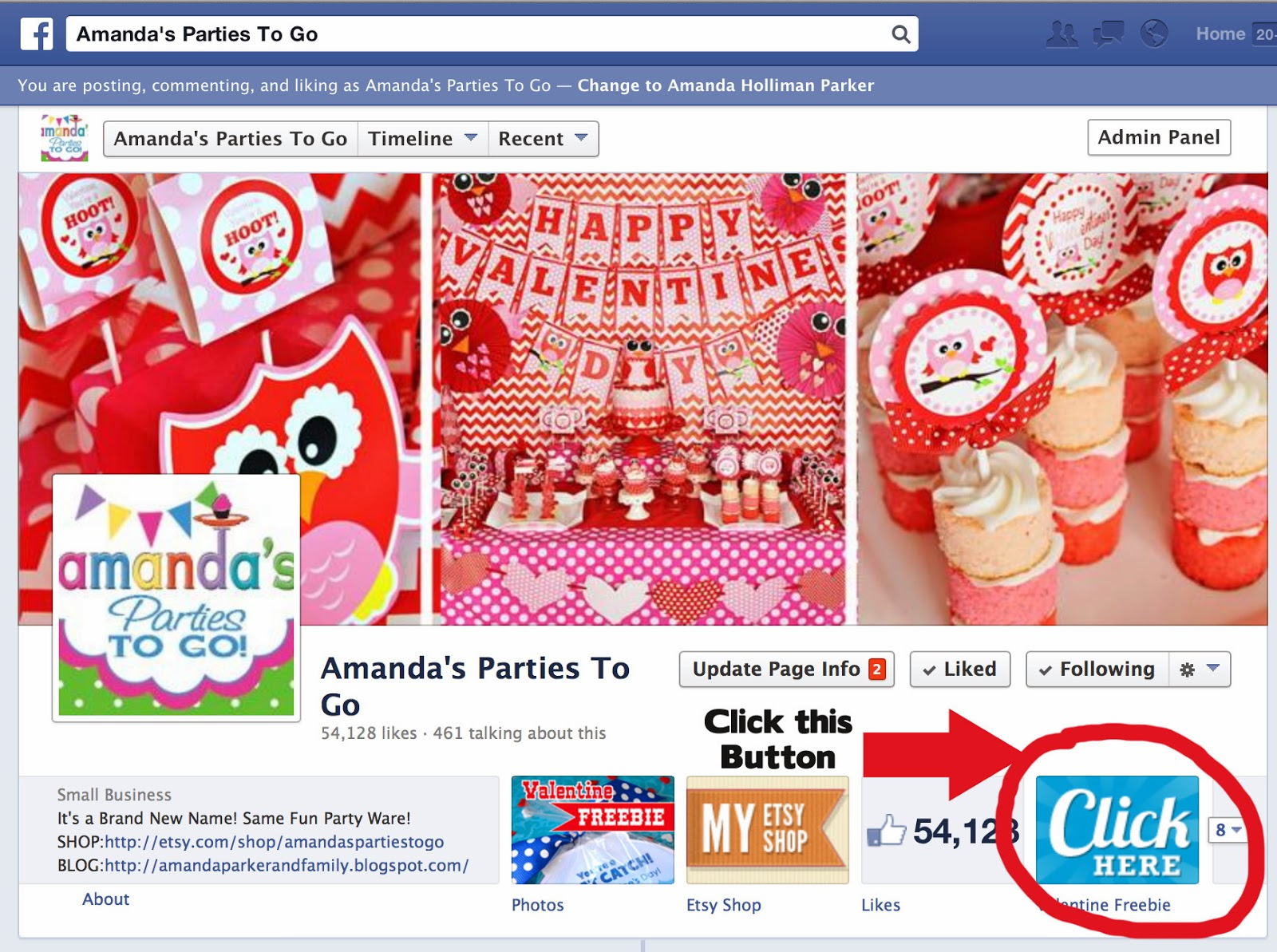 Amandas Parties To Go Valentines Day Freebie Printable