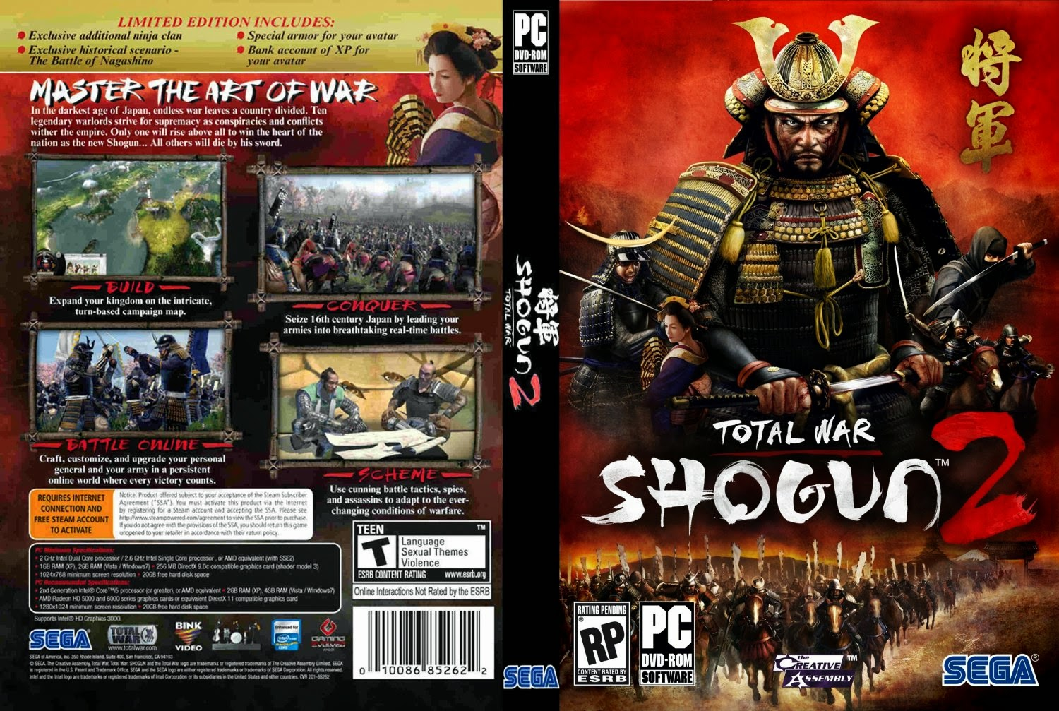 download game total war shogun 2 full version pc