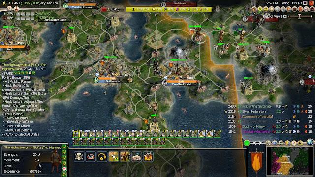 Civilization 4 - Fairy Tale Mod Screenshot