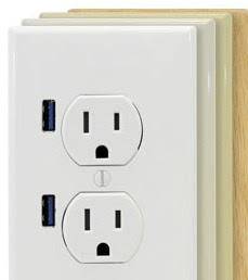 FastMac U-Socket: socket with USB outlets