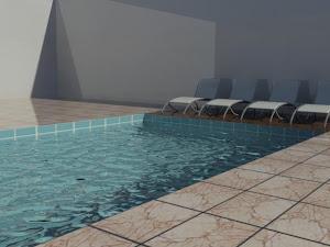 Piscina 3D Studio Max 2012