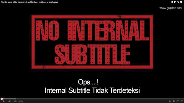 Cara Menggabungkan Subtitle dengan VIdeo Menggunakan AVC