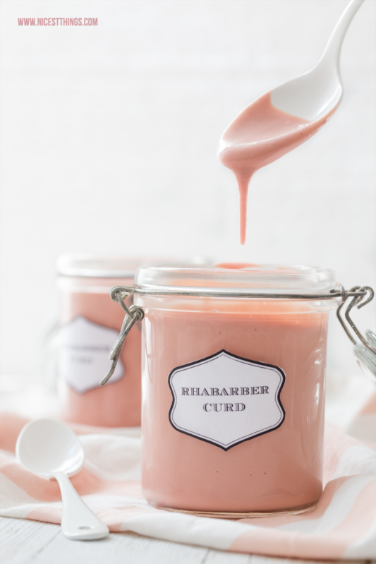 Rhabarber Curd Rezept Mit Thermomix Variante Nicest Things
