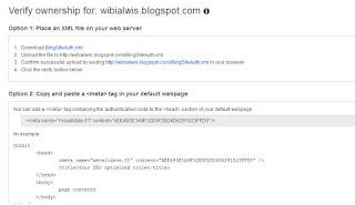 Cara Daftar Blog Atau Web Ke Yahoo Dan Bing