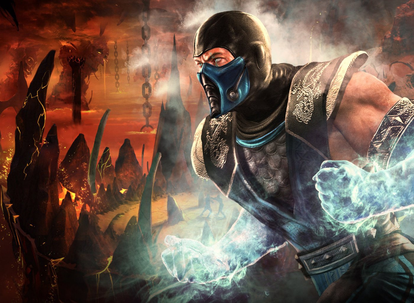 Background image vs img - Sub Zero Mortal Kombat Vs Dc Universe Dcuo Wallpaper Background Warner Bros Midway Fighting Game Img Image Picture Pic