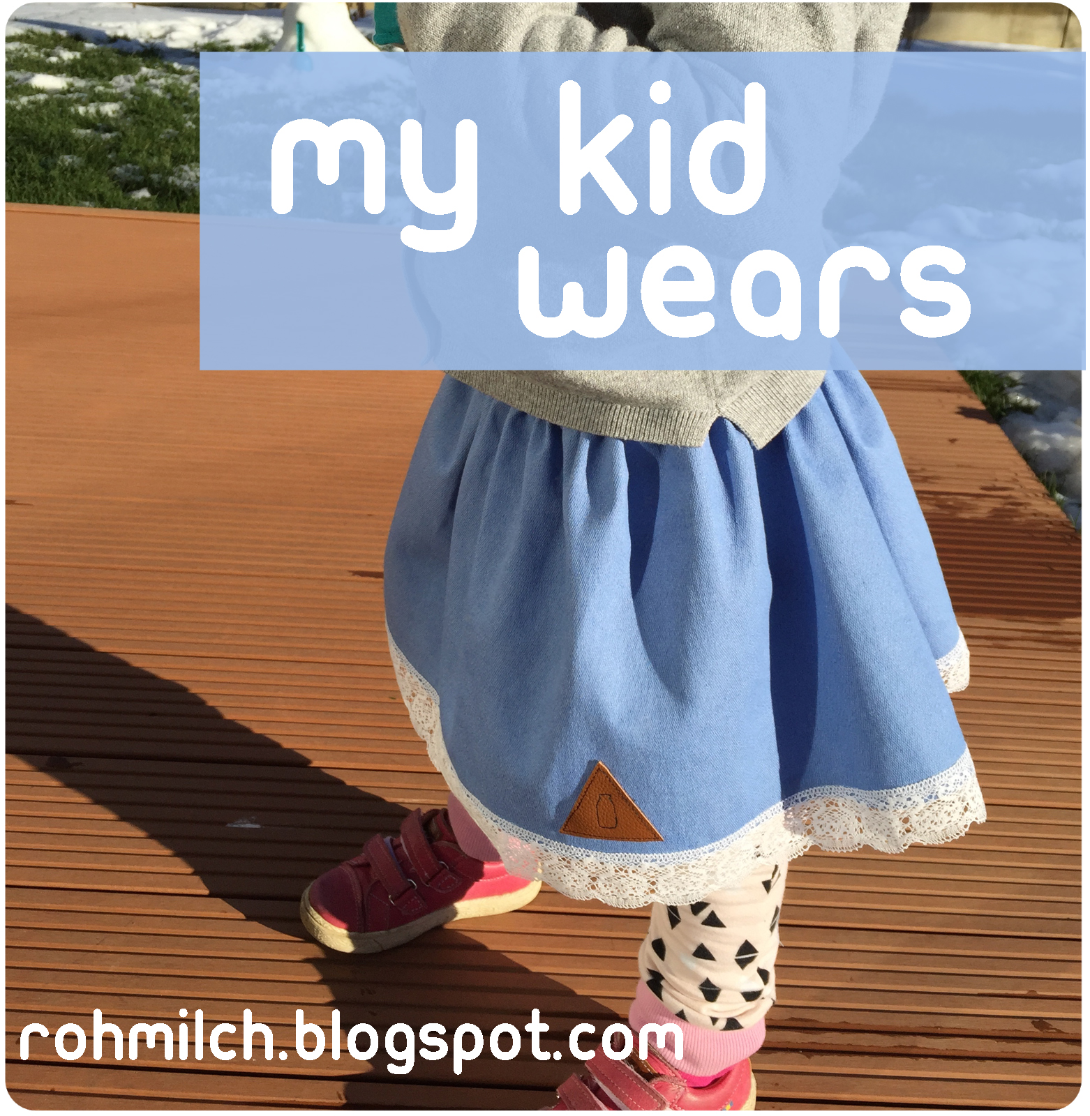 My kid wears