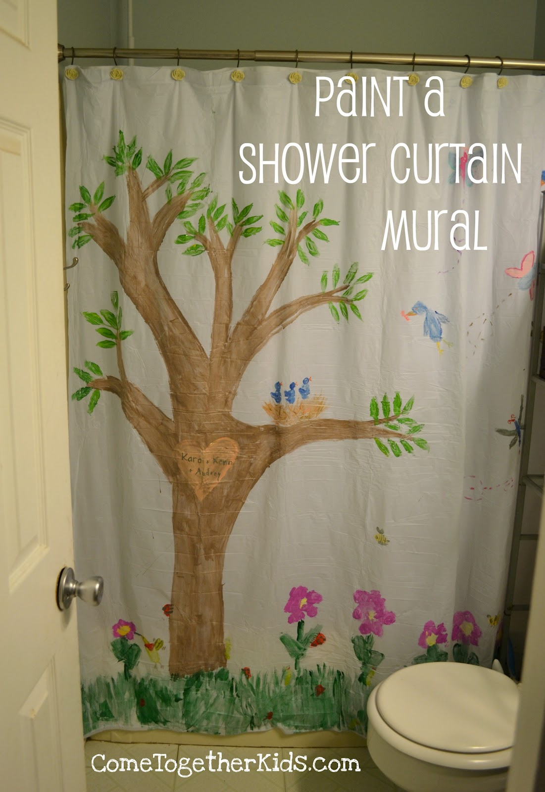 Shower Curtains For Girls