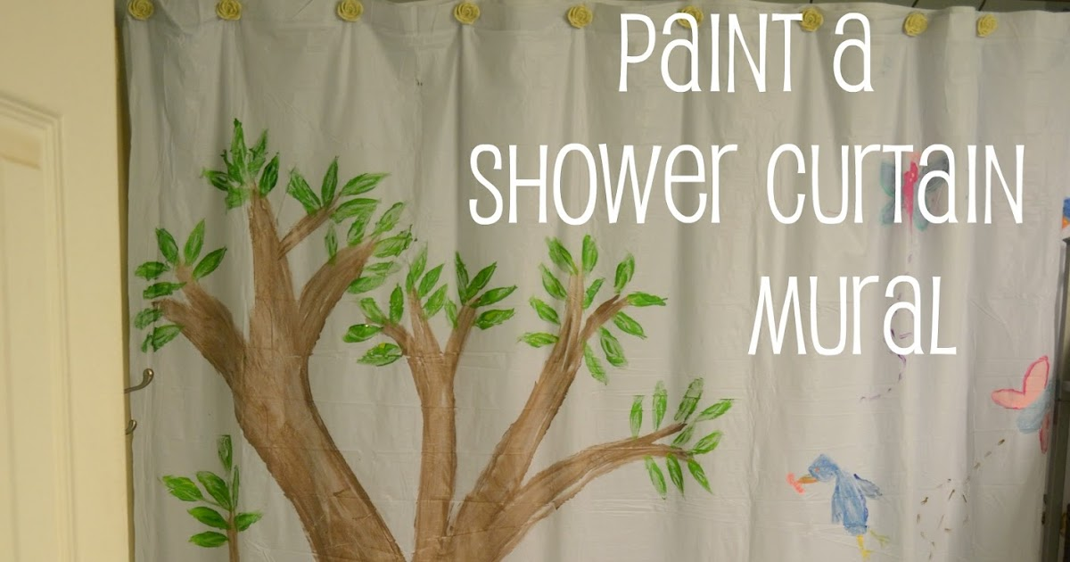 Me And My Big Ideas Make Your Own Shower Curtain