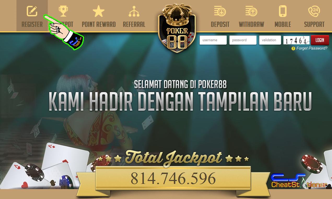 Situs Daftar Dewa Poker88 PokerClub88 Online Asia
