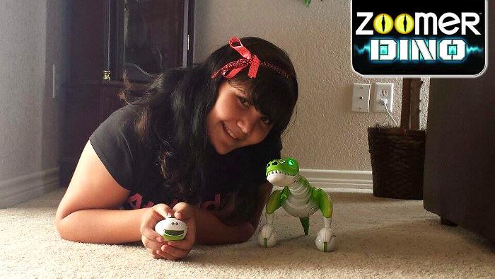 Boomer the Robotic Zoomer Dino