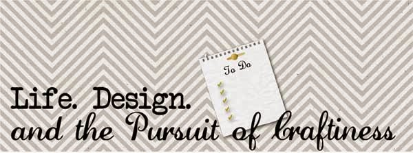 Life. Design. and the Pursuit of Craftiness