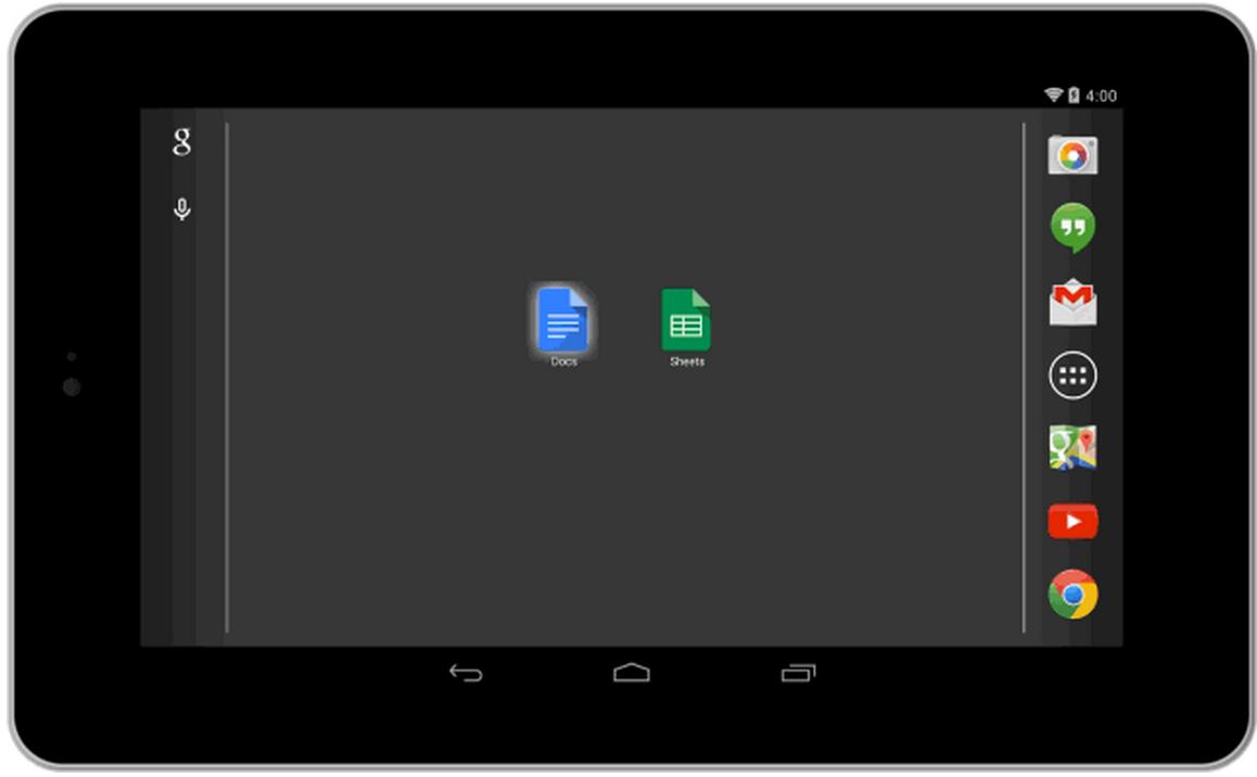 [APP]Google 放出獨立版本的Google DOC跟  Sheets , Slide稍後奉上
