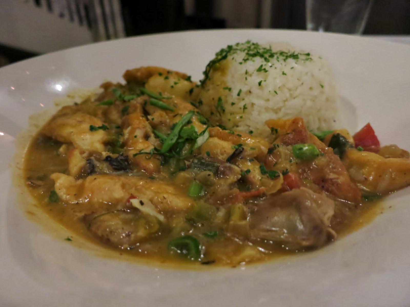 ... Chokin' and... Kingfish New Orleans Restaurant