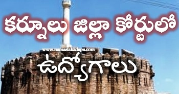 Kurnool Court Jobs
