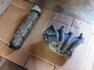 Porsche Intake Manifold and Cam Cover