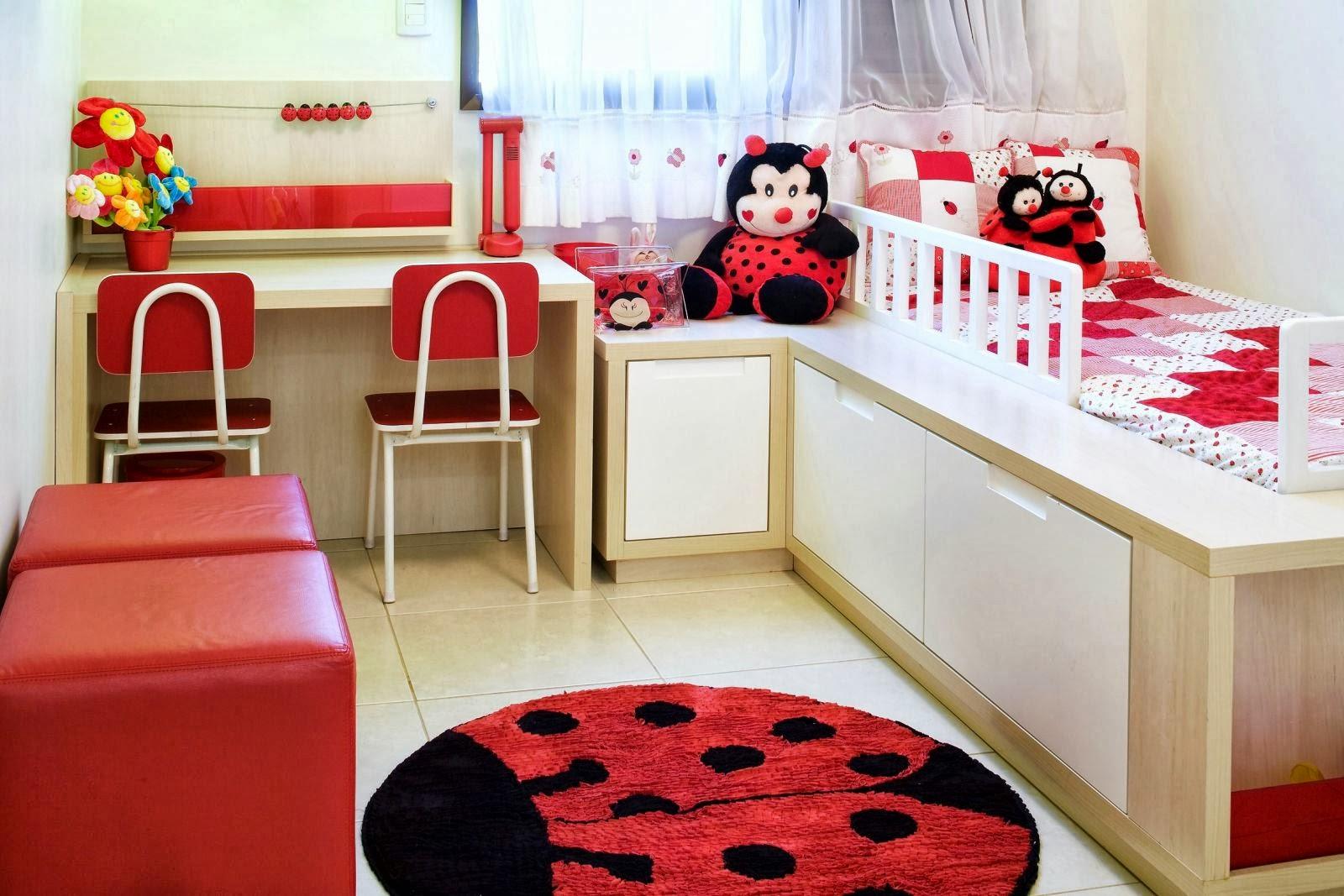 Móveis planejados quarto de menina ~ Quarto Planejado Infantil Feminino