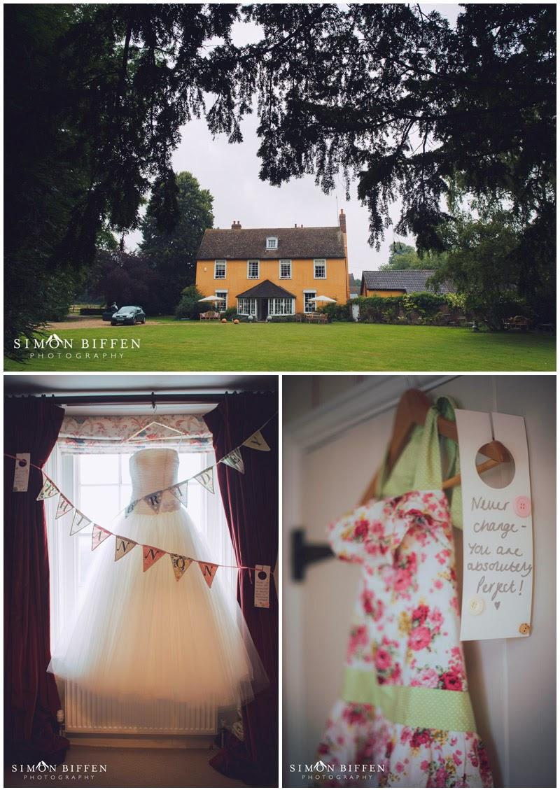 Blackthorpe Barn wedding preparations