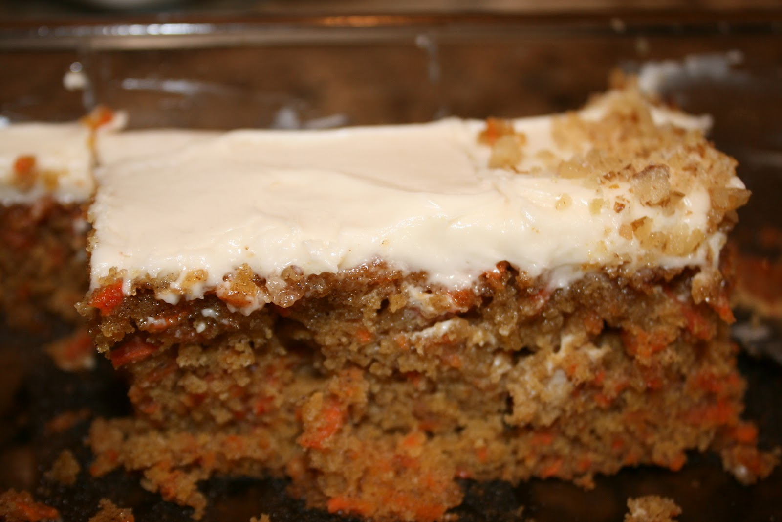 everything to entertain: Carrot Sheet Cake with Cream Cheese Frosting