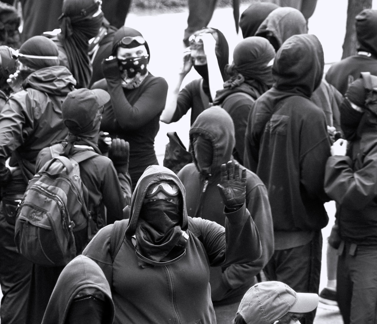 Black Bloc Fashion
