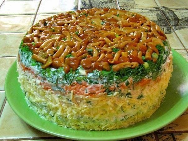 салат самый вкусный пошаговый рецепт с фото