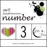 NUMBER 3 w ArtPiaskownica w Wyzwaniu KARTKA ŚWIĄTECZNA