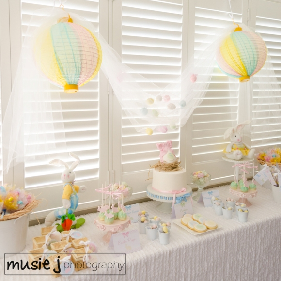 Easter Desserts Table