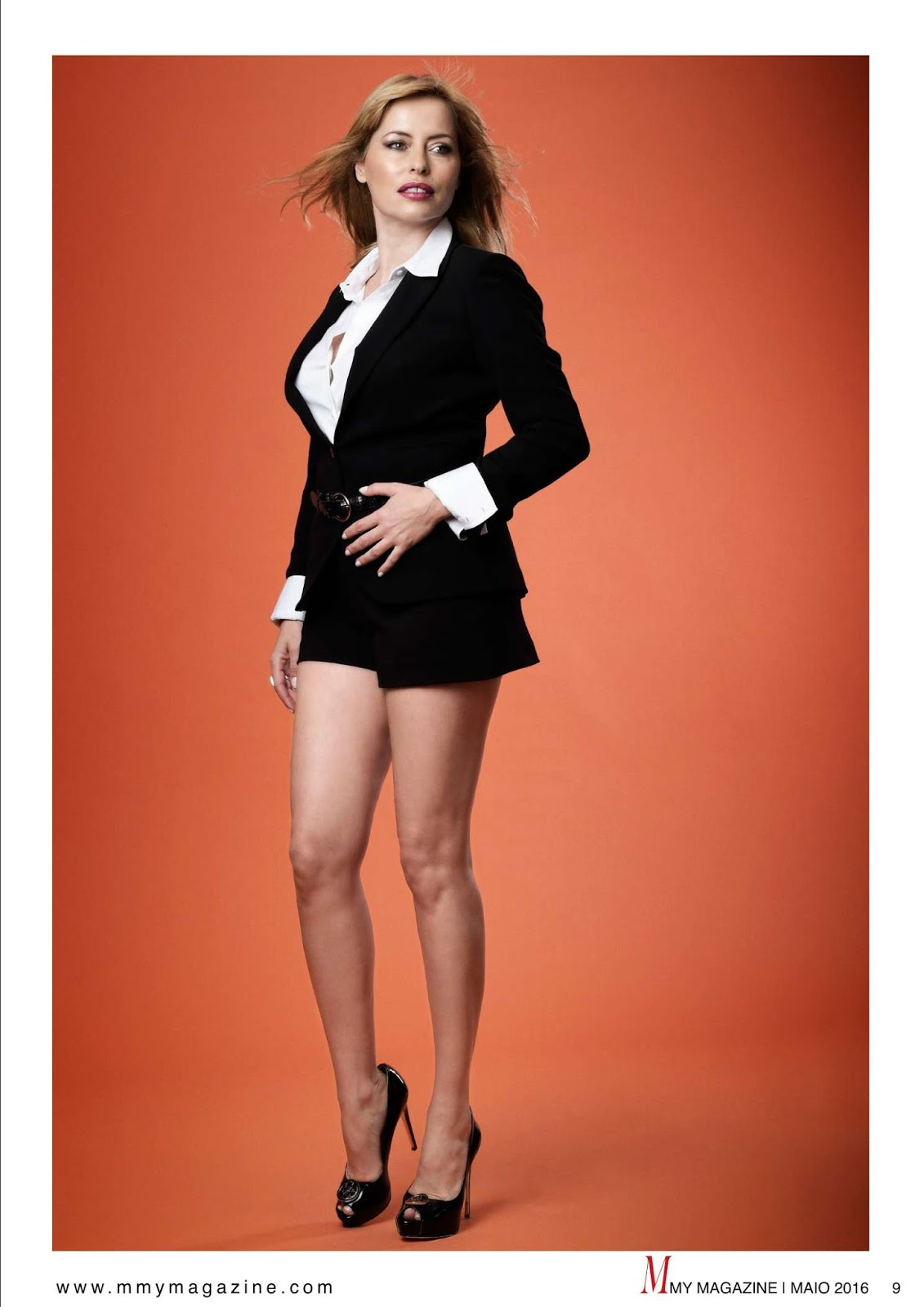 as pernas de carla salgueiro em destaque na m my magazine