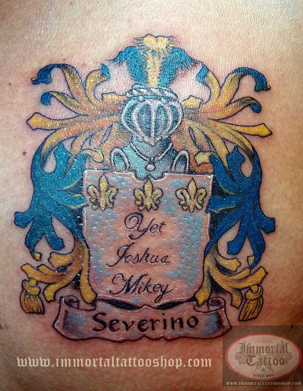 Immortal Tattoo Manila Philippines By Frank Ibanez Jr Severino
