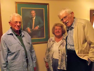We settled for a portrait of Arnold.  With Clark & Peggy in Latrobe, PA