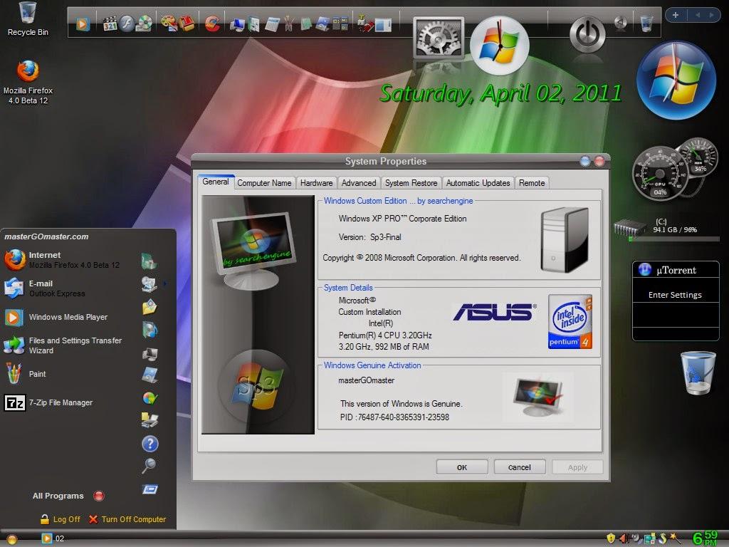 Сегодня предлагаем вам скачать Windows XP SP3 Rus Professional по. Пакет о