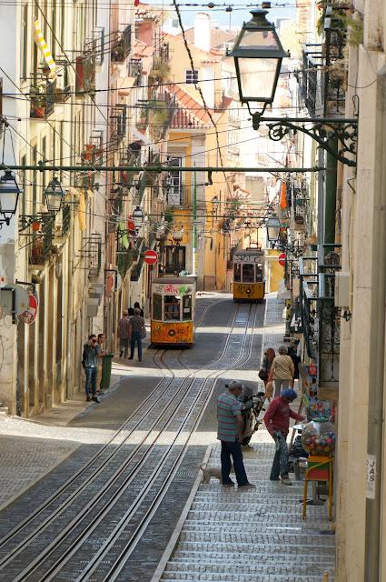Rua da Bica - Chiado - Lisbonne
