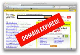 Expired domain names.These new rules will effective for domain expired in August