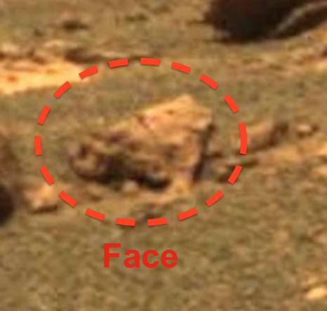 Alien Ship And Pilot Discovered On Fram Crater, Mars In NASA Photo ...