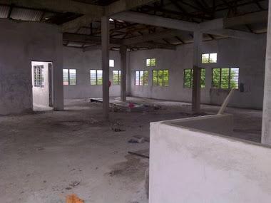 30 Julai 2011 tingkat atas dah siap tapi belum cat dan belum pasang siling