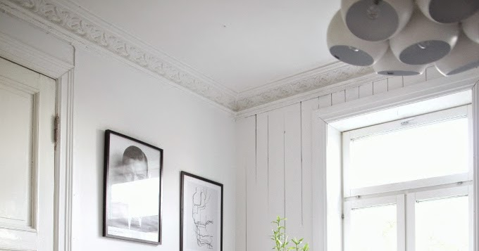 The cool home of a Norwegian blogger