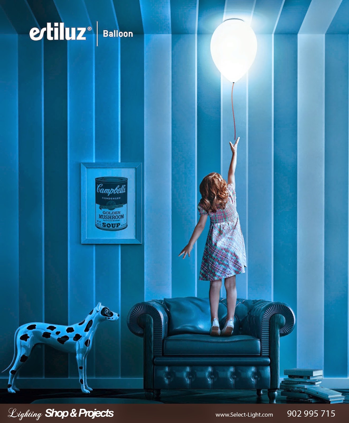 Francesc Crous &  Alessandro Calogero - Balloon Lamp