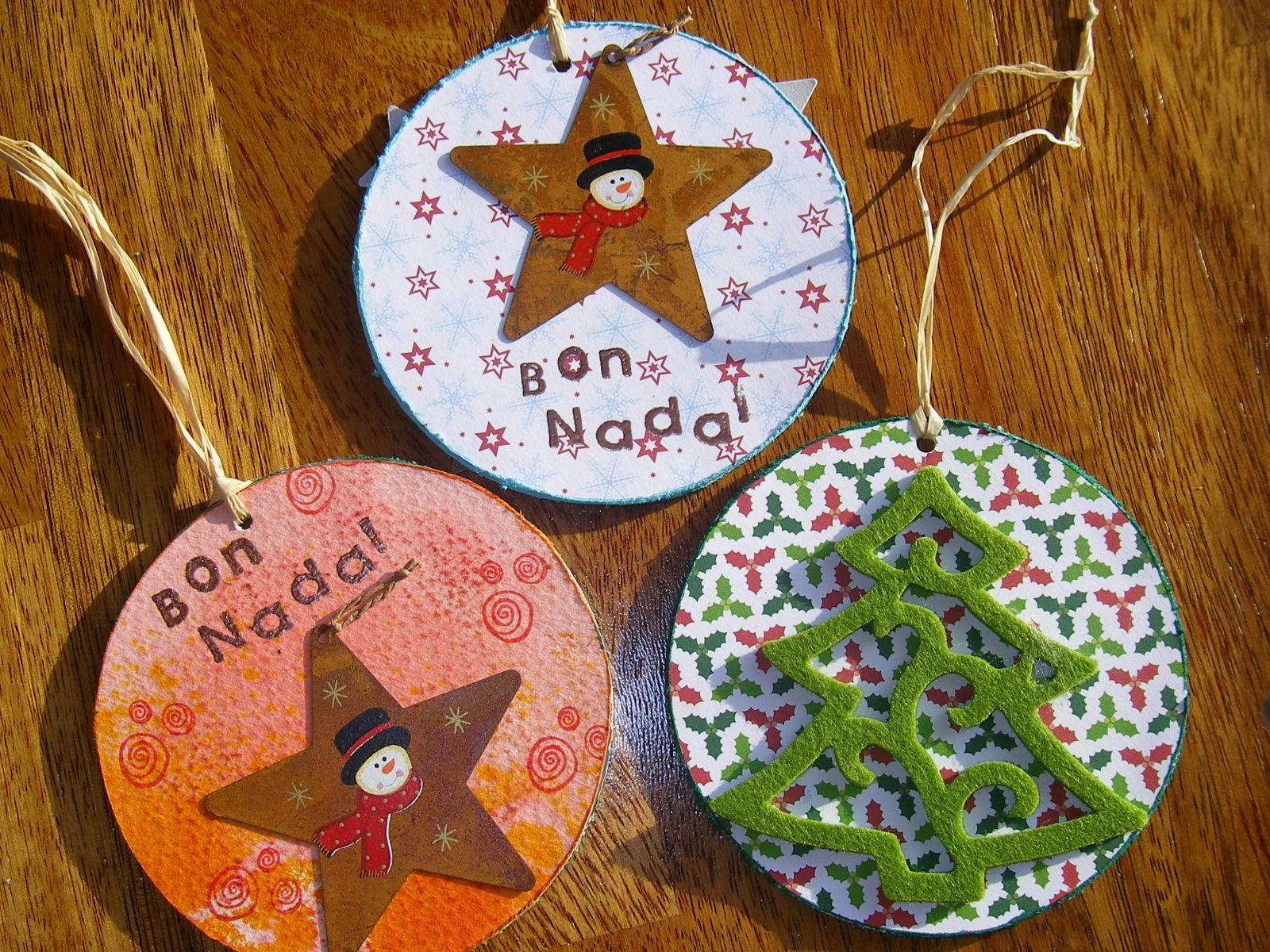 para hacer postales de navidad laura nos ense a decorar velas y mnica nos di grandes ideas para hacer nuestras postales por ejemplo utilizar cds