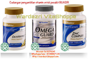 VITAMIN untuk pesakit BUASIR