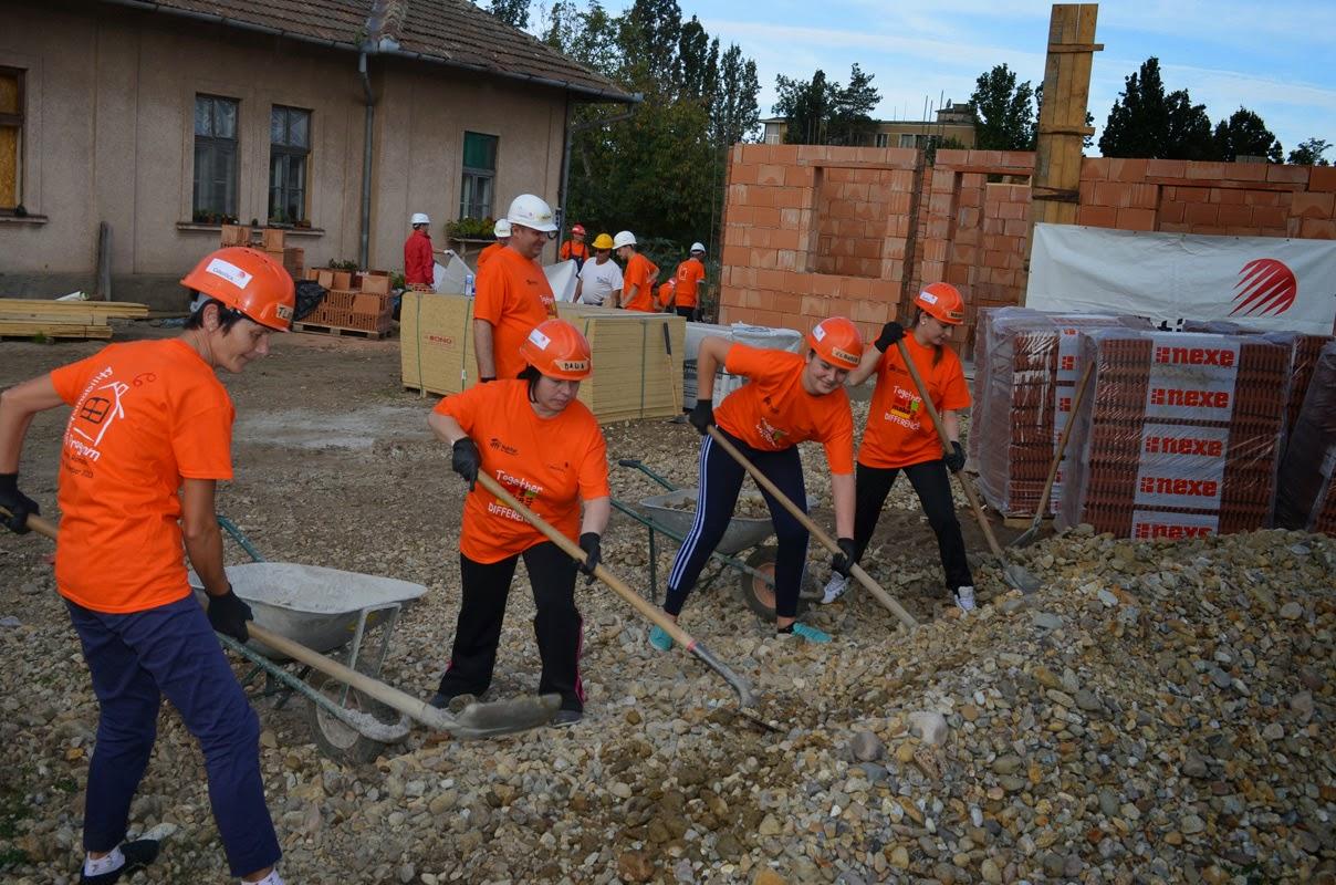 Habitat Beiuș, un nou proiect caritabil: 20 de locuințe în 10 zile
