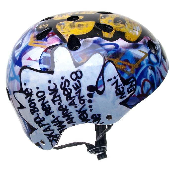 Grafity cool and unique graffiti design on helm ideas for Helm design