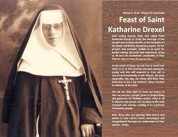 Feast of Saint Katharine Drexel