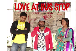 LOVE AT BUS STOP - Short Film By Ashok